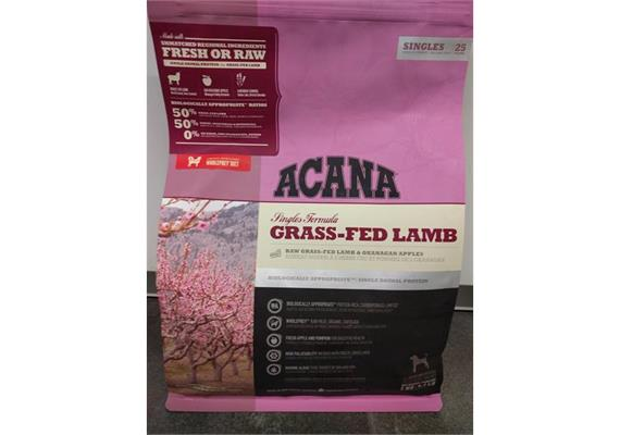 ACANA Dog Grass Fed Lamb 11.4kg NEW