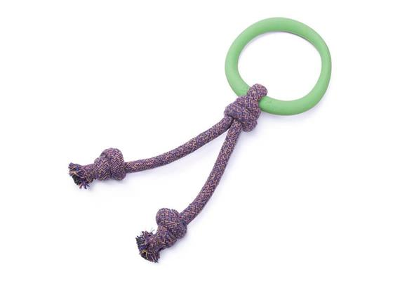 Beco Hoop on Rope Small Green