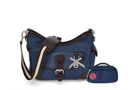 Beutel Hazel & Small Bag Navy Blue