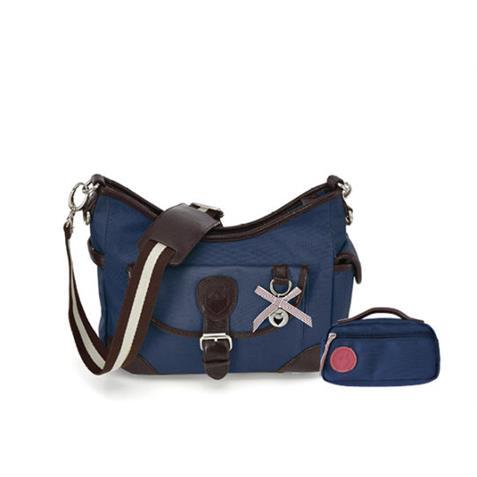 Beutel Hazel & Small Bag Navy Blue