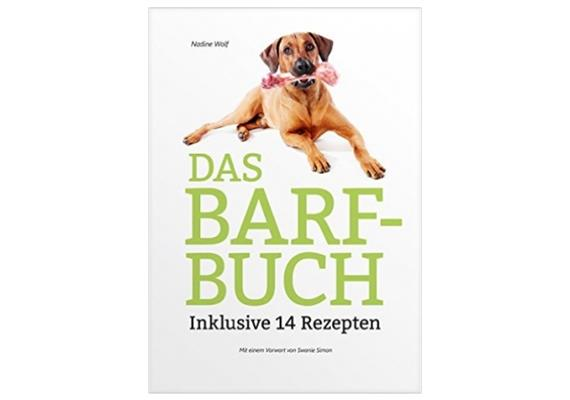 das barf buch von nadine wolf ern hrung lucky pets gmbh. Black Bedroom Furniture Sets. Home Design Ideas