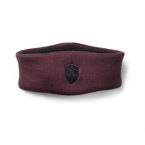 DogCoach Stirnband Winter Burgundy / Zorra
