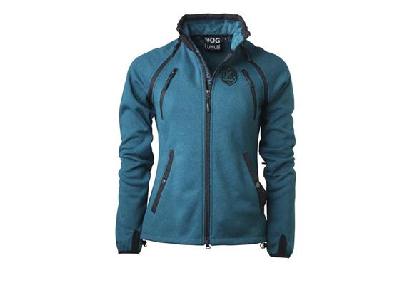 DogCoach Winterfleece Women Petrol Gr. 3XL