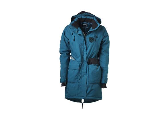 DogCoach Winterparka W.5 Petrol Gr. XS (with Paws)