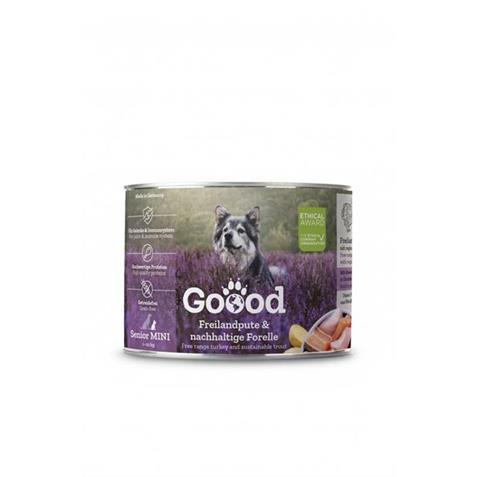 Goood Canine Senior MINI Pute/Forelle 200g