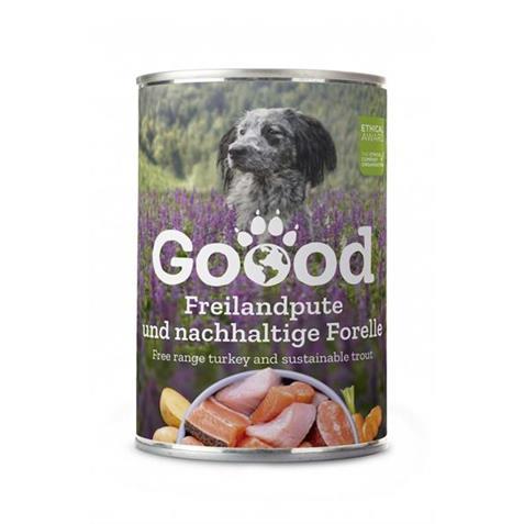 Goood Canine Senior Pute/Forelle 400g