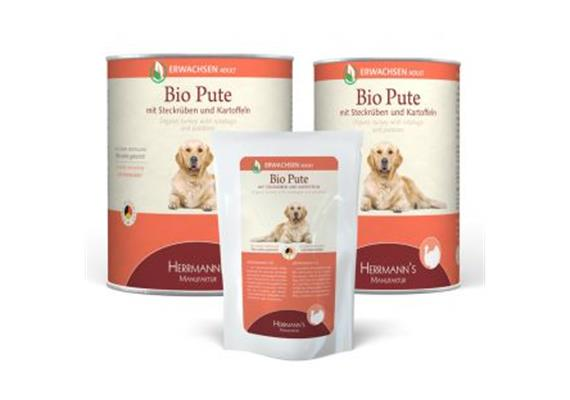 Herrmanns Selection Adult Pute & Rübe 800g