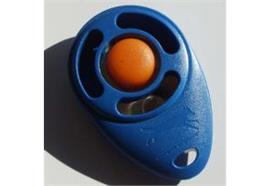 Triple Crown Clicker Blau/Orange