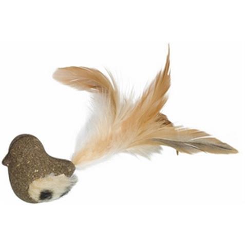 Vogel mit Feder und Catnip 5-17cm